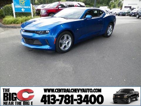 New 2018 Chevrolet Camaro LT RWD LT 2dr Coupe w/1LT