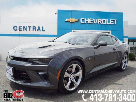 Pre-Owned 2018 Chevrolet Camaro SS RWD SS 2dr Coupe w/1SS
