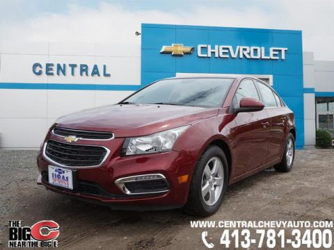 Pre-Owned 2015 Chevrolet Cruze 1LT Auto FWD 1LT Auto 4dr Sedan w/1SD