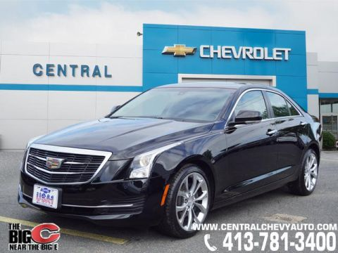 Pre-Owned 2015 Cadillac ATS 2.0T Luxury AWD