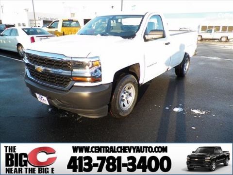 New 2017 Chevrolet Silverado 1500  2WD Regular Cab