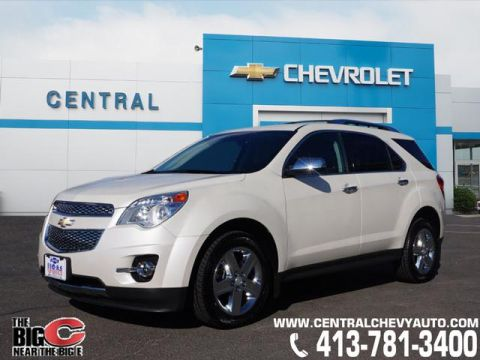 Pre-Owned 2014 Chevrolet Equinox LTZ AWD