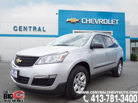 Pre-Owned 2015 Chevrolet Traverse LS AWD