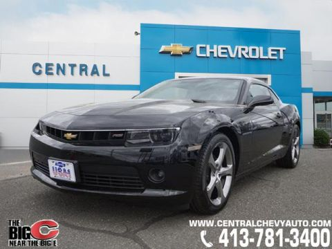 Certified Pre-Owned 2014 Chevrolet Camaro LT RWD LT 2dr Coupe w/2LT