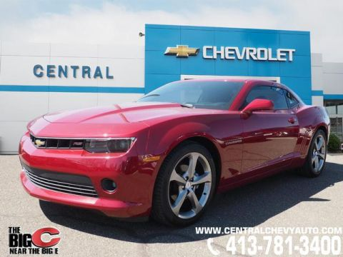 Pre-Owned 2014 Chevrolet Camaro LT RWD LT 2dr Coupe w/2LT