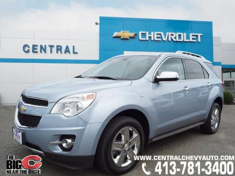 Pre-Owned 2015 Chevrolet Equinox LTZ AWD