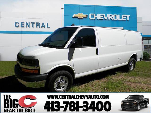 New 2019 Chevrolet Express Cargo 3500 3500 3dr Extended Cargo Van In