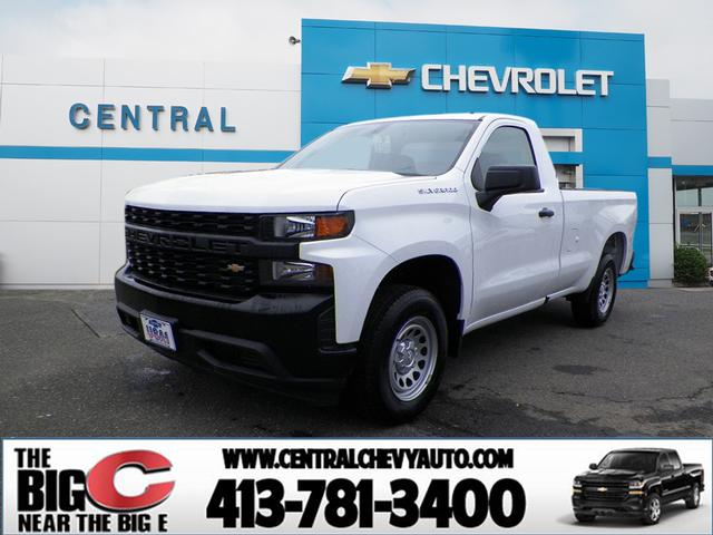 New 2019 Chevrolet Silverado 1500 Work Truck 2wd 4x2 Work Truck 2dr Regular Cab 8 Ft Lb