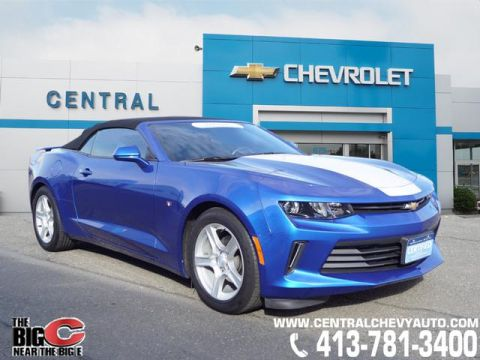 Certified Pre-Owned 2016 Chevrolet Camaro LT