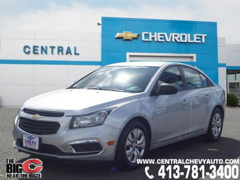 Pre-Owned 2016 Chevrolet Cruze Limited LS Auto FWD LS Auto 4dr Sedan w/1SB
