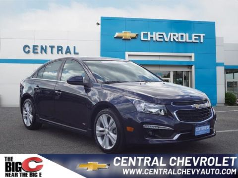 Certified Pre-Owned 2016 Chevrolet Cruze Limited LTZ Auto FWD LTZ Auto 4dr Sedan w/1SJ