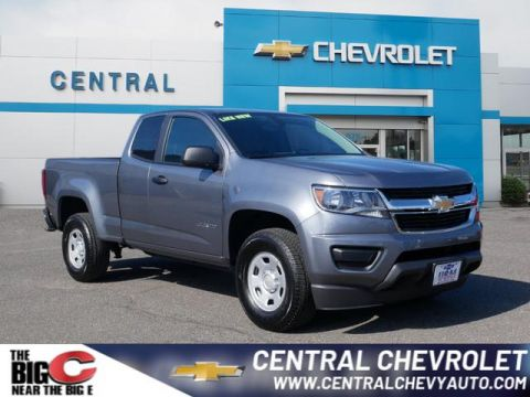 Pre-Owned 2019 Chevrolet Colorado Work Truck